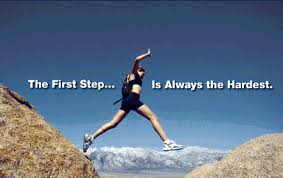The first step pic